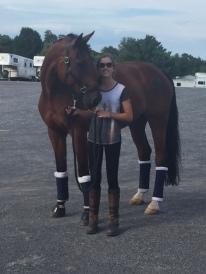 At the VA Horse Center
